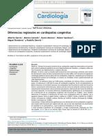 Diferencias Regionales en Cardiopatías Congénitas