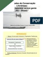 MELLO & PEREIRA - Unidades de Conservação Litorâneas - Natureza X Gente