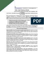CFO COO VP Finance in United States Resume Michael Carpenter