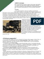 Revoluţia in Europa in Anii 1848-1849