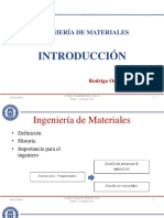 Introducción Ingeniería de Materiales