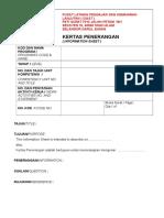 10. Information Sheet