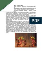 Las Danzas y Estampas en La Cultura Maya