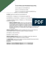 Classificação Do Nível de Atividade Física Ipaq