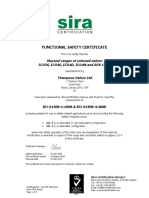 Sil - Functional Safety Cert