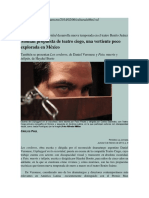 Montan Propuesta de Teatro Ciego, Una Vertiente Poco Explorada en México