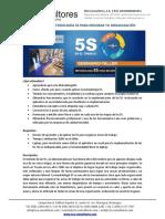 Ficha Tecnica Seminario Metodologia 5S.01