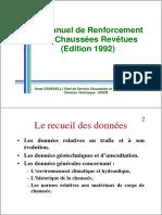3-Manuel de Renforcement Des Chaussées Revêtues- Cycle Perfectionnement