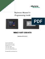 NXT-350-470 Manual