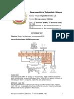 Microprocessor 8085 Lab Manual