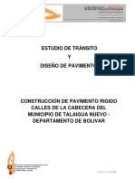 Estudio de Transito y Diseño de Pavimento Version Final