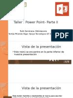 Taller- Power Point -Parte II