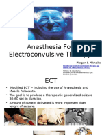 Anesthesia for Electroconvulsive Therapy--ujo