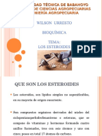 LOS ESTEROIDES