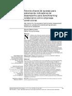 Fatores Chaves de Sucesso Para Sistemas de Indicadores de Desempenho Para Benchmarking