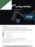 libretto USO e manutenzione Musa 2012