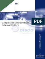 Copeland España Guia Aplicaciones Semis DK-DL-S