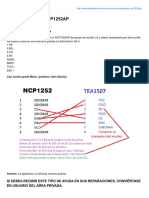Cómo Reemplazar NCP1252AP