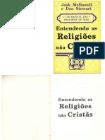 Entendendo as Religiões Não Cristãs - Josh McDowell e Don Stewart