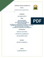 Universidad Tecnica de Babahoyo Trabajo de Botanica Sistematica...
