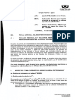Instrucciones Criterios Abordaje de Delitos Ministerio Publico