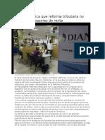 1Fiscalía Critica Que Reforma Tributaria No Penaliza a Evasores de Renta