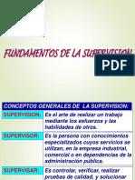Fundamentos de La Supervisión en Minera