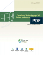 Proceedings of the Joint Meeting of SGP National Coordinators and PMO Directors