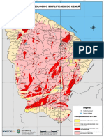 Mapa Geologico Simplificado CE
