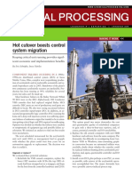 Hot Cutover Boosts Control System Migration