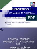 Guia para tramitar foliosy Certificado de Sellos Digitales