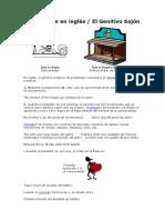 Lesson 10La Posesión en Inglés(Genitivo Sajón)