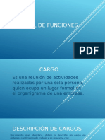 Manual Funciones