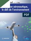 Yves Galland, Gilles Roy-Révolution Aéronautique, Le Défi de l'Environnement-Pearson Education (2008)