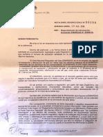 Respuesta de Energas al pedido de acceso a la información