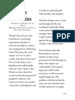 Micah 6.1-8 Matthew 5.1-12 Holy Priorities (1/29/17)