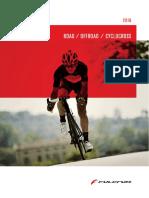 Catalogue Fulcrum 2016 Road CX