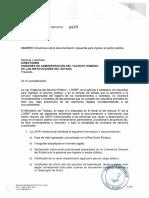 Oficio Circular No. MDT DM 2015 0008