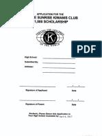 Olathe Sunrise Kiwanis Club
