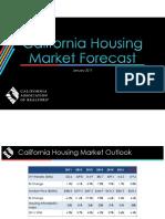 CA Housing Mraket Forecast 0117