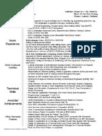 Resume AmmadAhmad GIKI-FME 2010053