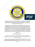 Information Rotary Club International