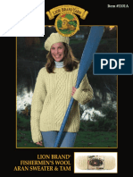 Aran Sweater Knitting Pattern