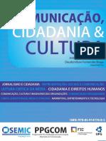 Comunicacao CIdadania e Cultura eBook 2015