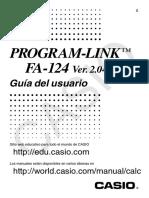FA 124 ES Guía Calculadora