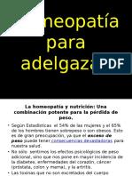 Homeopatía Para Adelgazar.