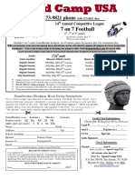 7 on 7 flyer