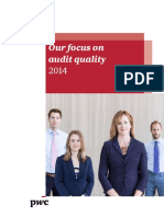 2014 Audit Quality Report