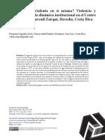 ¿ Es la cárcel violenta en sí misma Violencia y legitimación de la dinámica institucional en el Centro de Formación Juvenil Zurquí, Heredia, Costa Rica.pdf