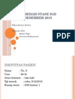 Laporan Bedah STASE IGD 10des15